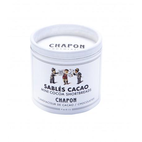 Mini sablé cacao