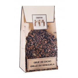 Grilled cocoa nibs from Venezuela