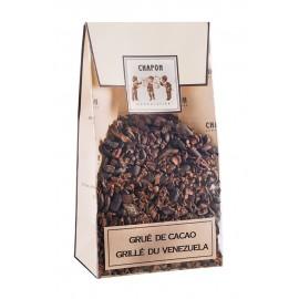 Poche de grué de cacao grillé du Venezuela