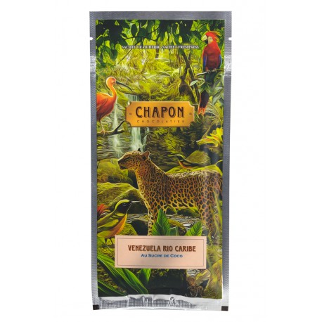 Tablette Chocolat Noir Rio Caribe Au Sucre De Coco