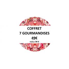 Coffret 7 gourmandises - OFFRE ÉPHÉMÈRE -