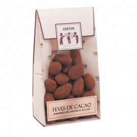 チョコレートがけカカオ豆 袋入り