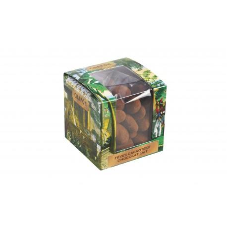 Cube - Chocolate Cocoa Beans Milk