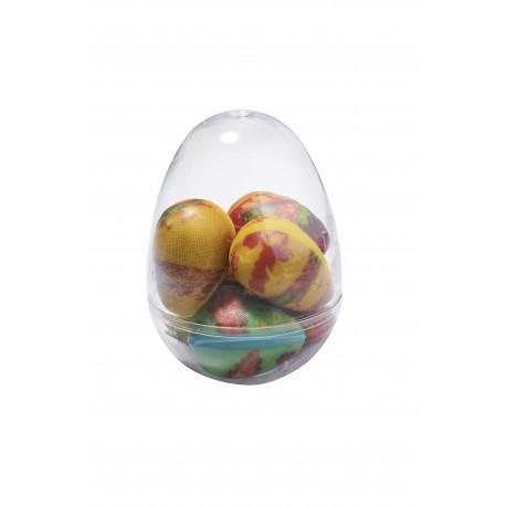 7 cm crystal egg - Agates