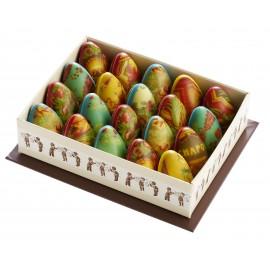 Box of 20 Transparent Agate Eggs