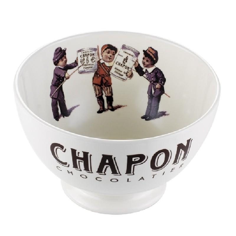 Saladier porcelaine blanche chapon 25cl chocolat chapon - Saladier porcelaine blanche ...