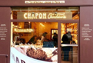 Chapon et la Chocolaterie Paris 6