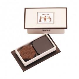 Geschenkbox mit 2 Pralinen