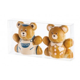Choc Teddy Transparence Children x2