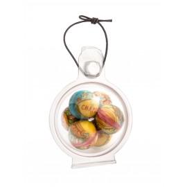 Boule de Noël en chocolat - Agates