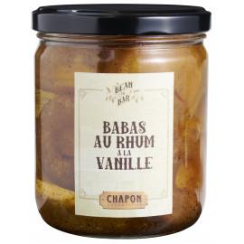 Babas au Rhum à la vanille